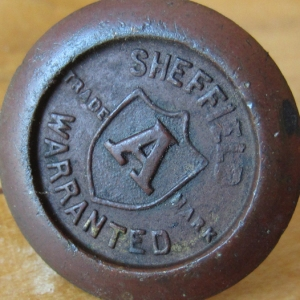 002 Sheffield Warranted Medallion Before