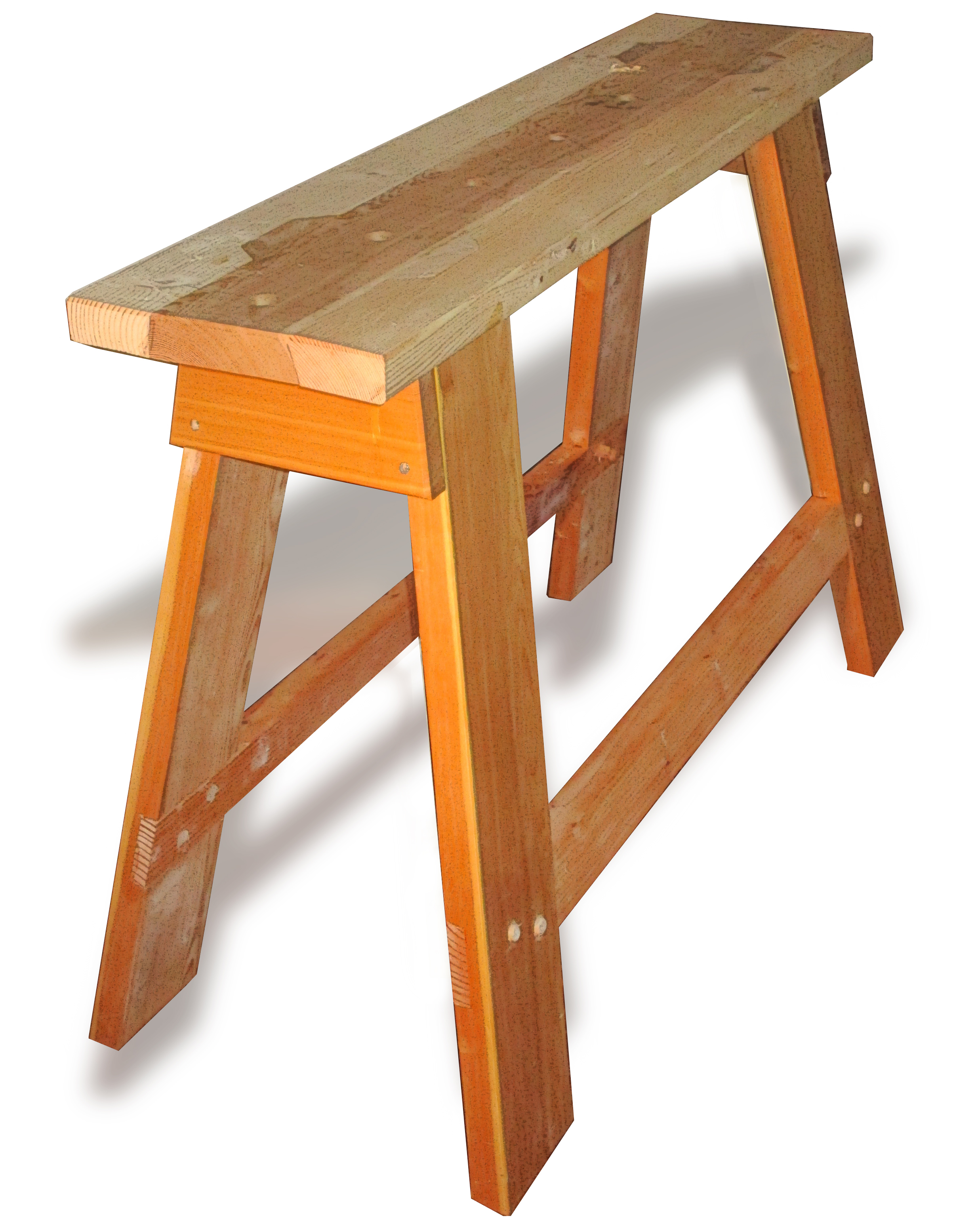 My own dear son asked why I'd spend so much time on sawhorses?