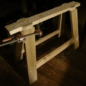 Sawhorse in Progress
