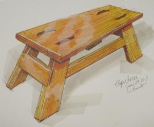 Sawhorse Sketch