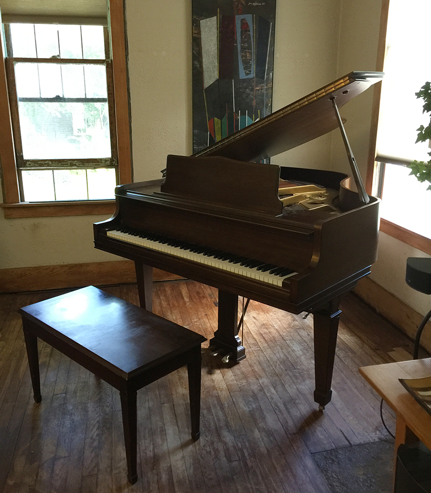 Piano in Living Room